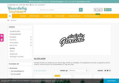 Screenshot van alcolado.nl