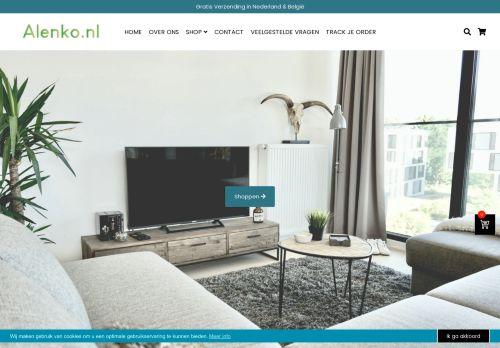 Screenshot van alenko.nl