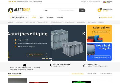 Screenshot van alertshop.nl