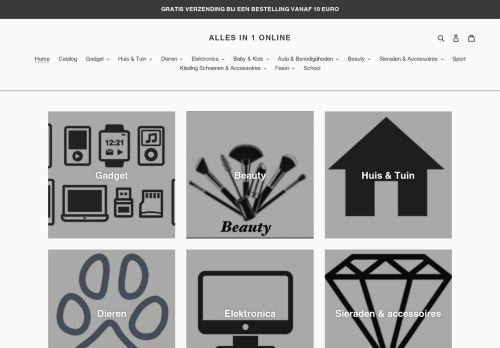 Screenshot van allesin1online.com
