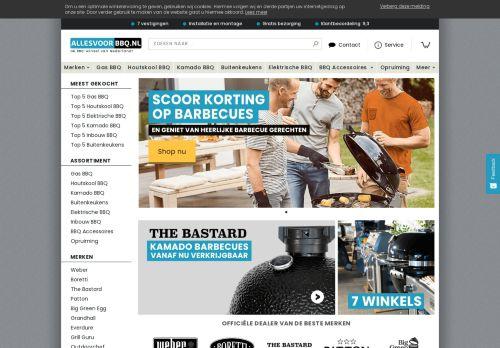 Screenshot van allesvoorbbq.nl