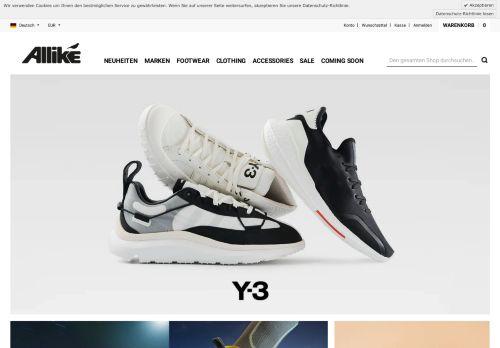 Screenshot van allikestore.com