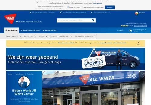 Screenshot van allwhitecenter.nl