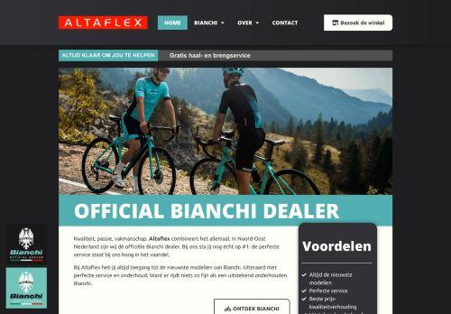 Screenshot van altaflex.nl