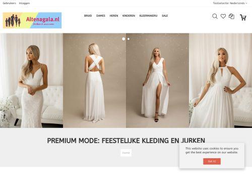 Screenshot van altenagala.nl