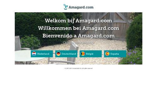 Screenshot van amagard.com