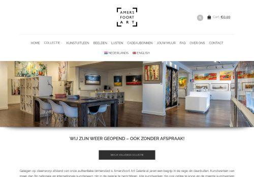 Screenshot van amersfoortart.nl