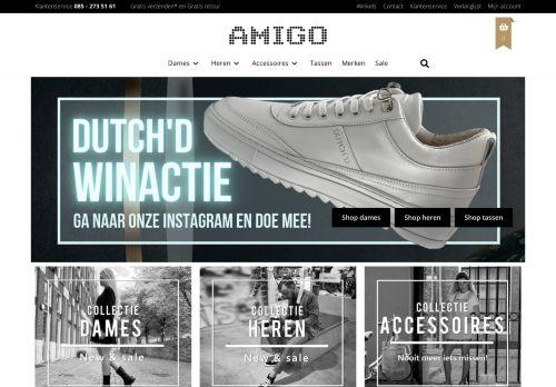 Screenshot van amigo.nl