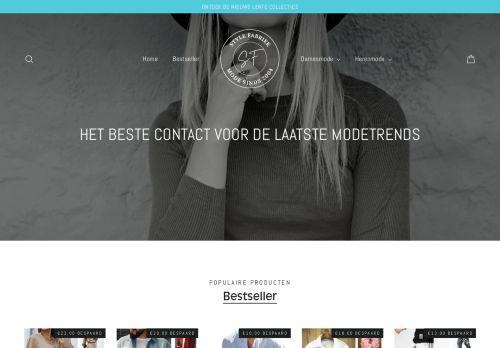 Screenshot van amira-f.nl