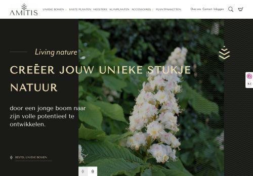 Screenshot van amitis.nl