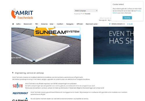 Screenshot van amritwatersport.nl