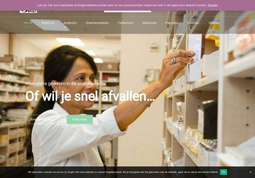 Screenshot van anabolen-outlet.com