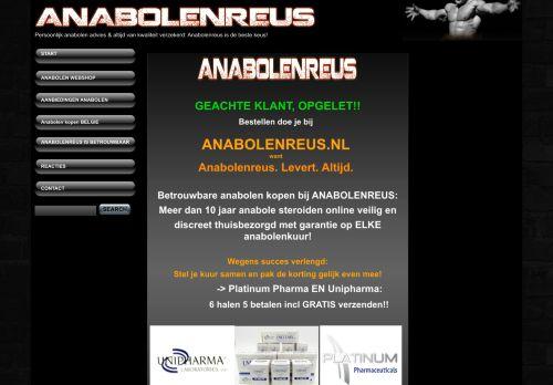 Screenshot van anabolenreus.net
