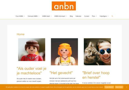 Screenshot van anbn.be
