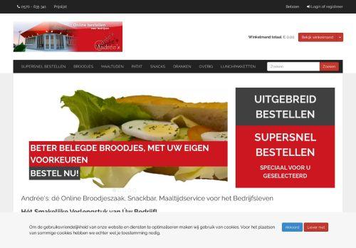 Screenshot van andrees.nl
