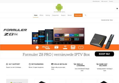 Screenshot van androidkastje.nl