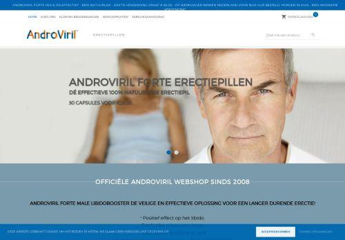 Screenshot van androviril.nl