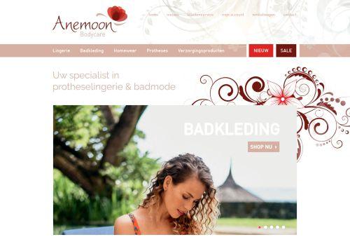 Screenshot van anemoon-bodycare.nl