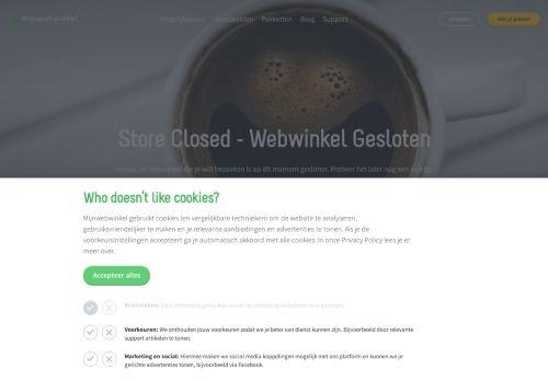 Screenshot van anothercosyshop.com