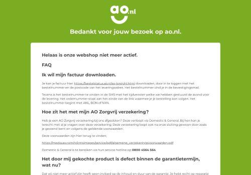Screenshot van ao.nl