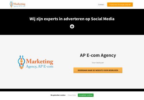 Screenshot van ap-ecom.nl