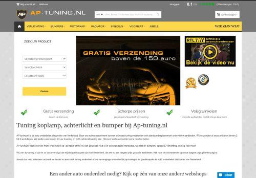 Screenshot van ap-tuning.nl
