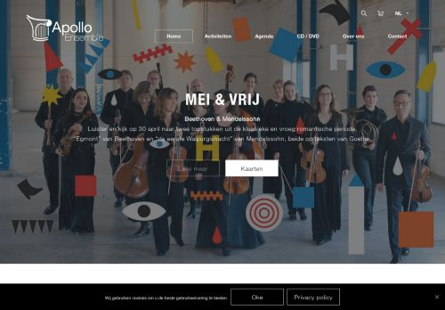 Screenshot van apollo-ensemble.nl