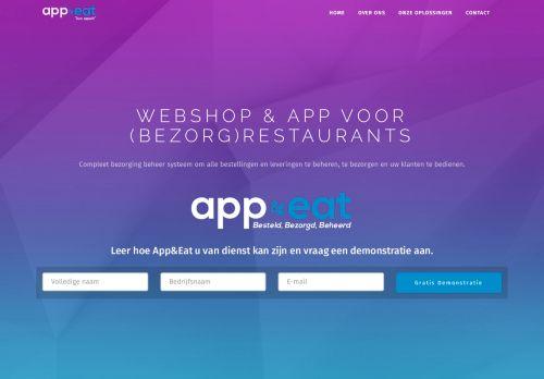 Screenshot van appeat.nl