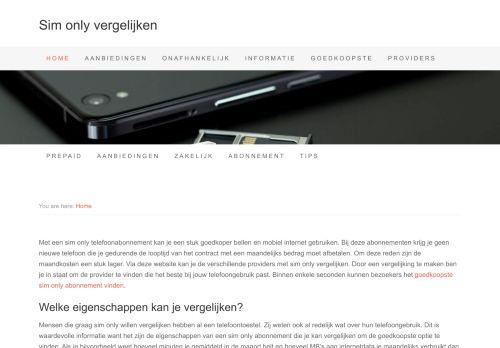 Screenshot van apple-essentials.nl