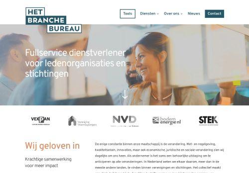 Screenshot van apprhetbrancheburo.nl