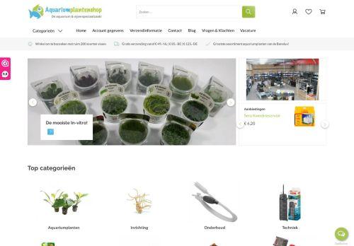 Screenshot van aquariumplantenshop.nl