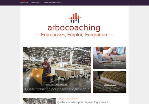 Screenshot van arbocoaching.nl