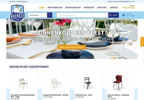 Screenshot van arendje.nl