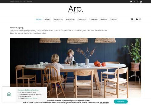 Screenshot van arpdesign.com