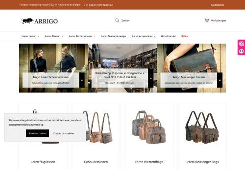 Screenshot van arrigo.nl