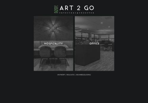 Screenshot van art2gointerieurprojecten.nl