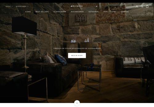 Screenshot van arvinchi.com