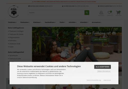 Screenshot van asia-wohnstudio.de