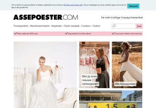 Screenshot van assepoester.com
