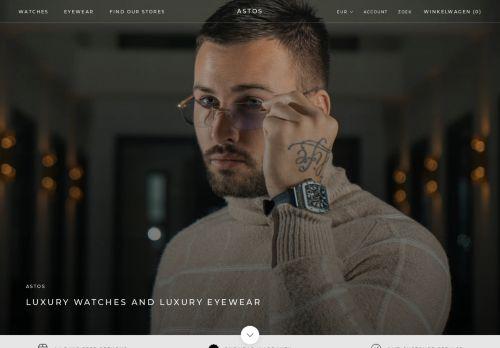 Screenshot van astoswatches.com