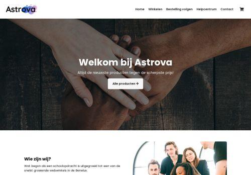 Screenshot van astrova.nl