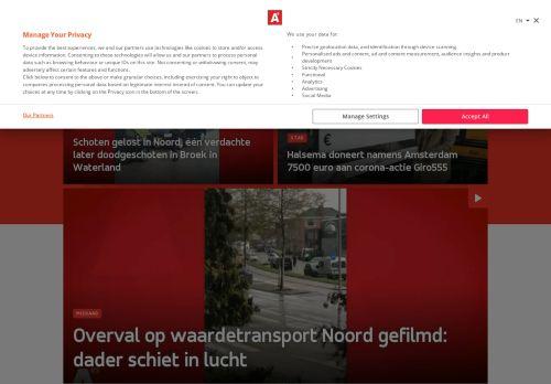 Screenshot van at5.nl
