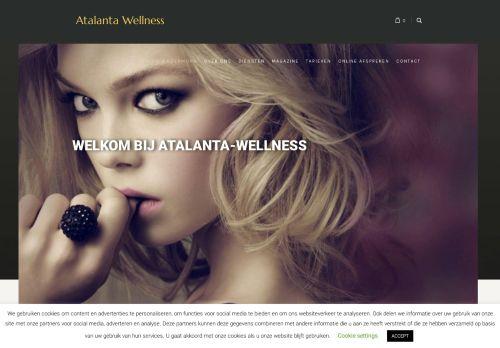 Screenshot van atalanta-wellness.nl