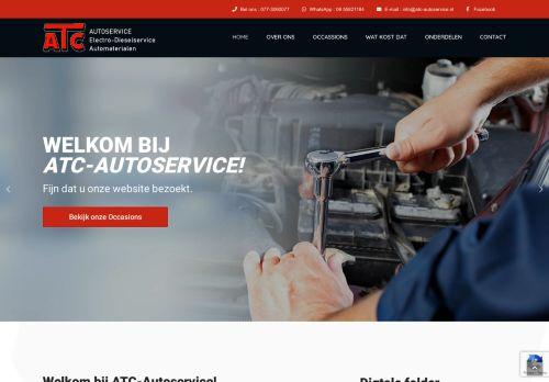 Screenshot van atc-autoservice.nl