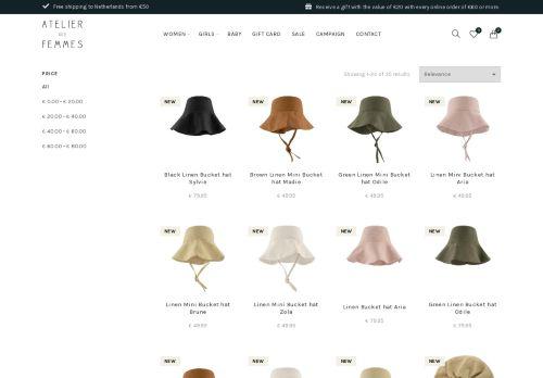 Screenshot van atelierdesfemmes.com