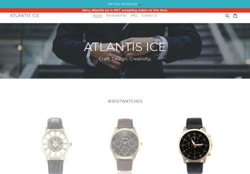 Screenshot van atlantisiceshop.com