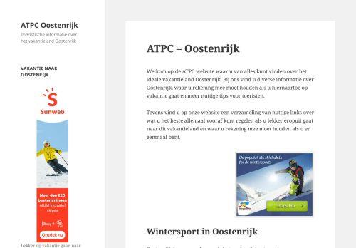 Screenshot van atpc.nl