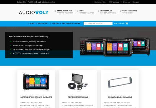 Screenshot van audiovolt.nl