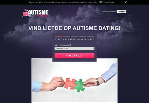 Screenshot van autisme-dating.nl