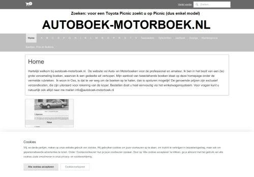 Screenshot van autoboek-motorboek.nl